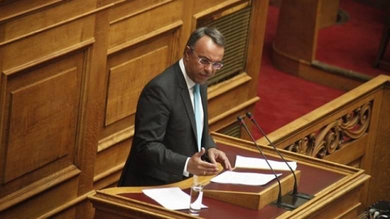 Σταϊκούρας: Νέα μέτρα 1,9 δισ. ευρώ στο προσχέδιο Προϋπολογισμού 2018