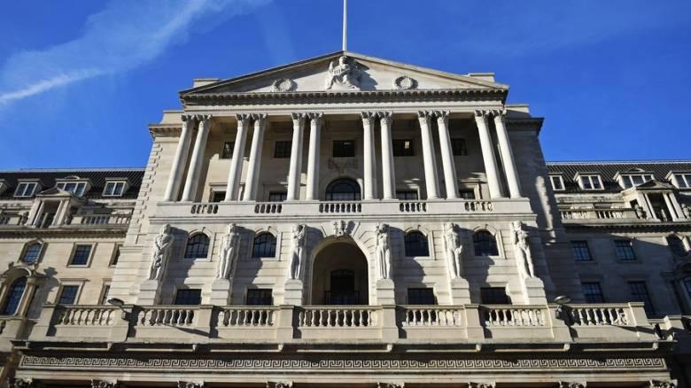 Αύξηση επιτοκίων 0,25% αποφάσισε η Τράπεζα της Αγγλίας