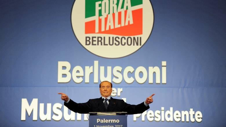 Οι προβλέψεις του Μπερλουσκόνι για τις βουλευτικές εκλογές της Ιταλίας
