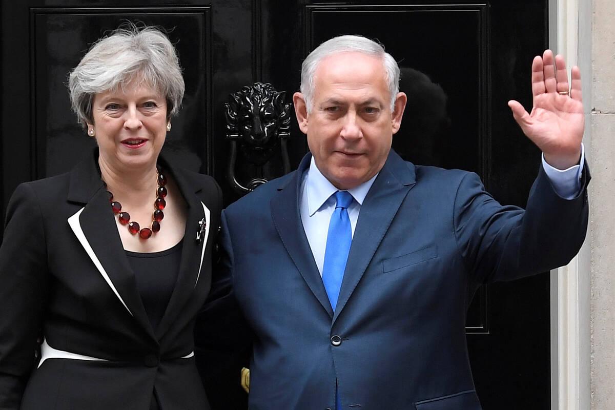 2017 11 02T123039Z 1731139094 RC1AECA0C670 RTRMADP 3 BRITAIN ISRAEL