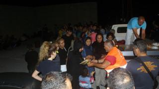 Διάσωση 127 μεταναστών και προσφύγων ανοικρά της Χίου