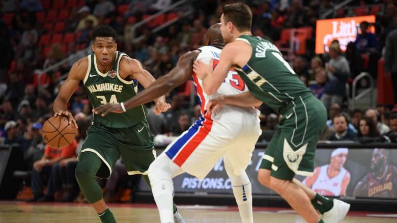 NBA: 29 πόντοι από τον Αντετοκούνμπο, διψήφιος ο Ντόρσεϊ και 57 ο Λεμπρόν! (vids)