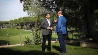 Ανεπίσημη συνάντηση Τσαβούσογλου - Γκάμπριελ στην Τουρκία (pics)