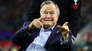 Ο Τζορτζ Μπους ο πρεσβύτερος αποκαλύπτει τι ψήφισε στις εκλογές του 2016