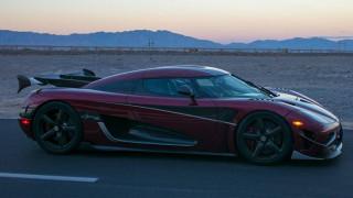 To Koenigsegg Agera RS πέτυχε νέο ρεκόρ ταχύτητας με 447,19 χλμ./ ώρα!
