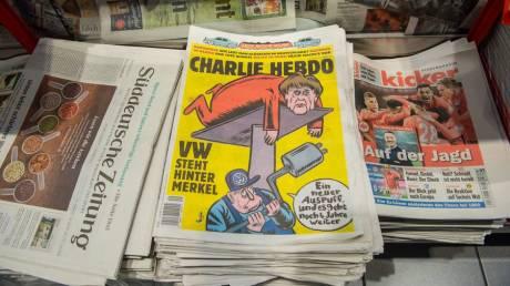 Μήνυση του Charlie Hebdo ύστερα από νέο κύκλο απειλών για σκίτσο του (pic)