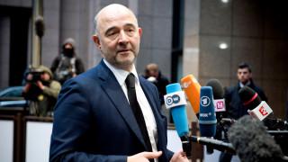 Μοσκοβισί: Έως το τέλος Δεκεμβρίου συμφωνία σε τεχνικό επίπεδο για την αξιολόγηση