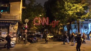 Τρομοκρατική επίθεση κατά του σκοπού της διμοιρίας των ΜΑΤ στη Χαρ. Τρικούπη