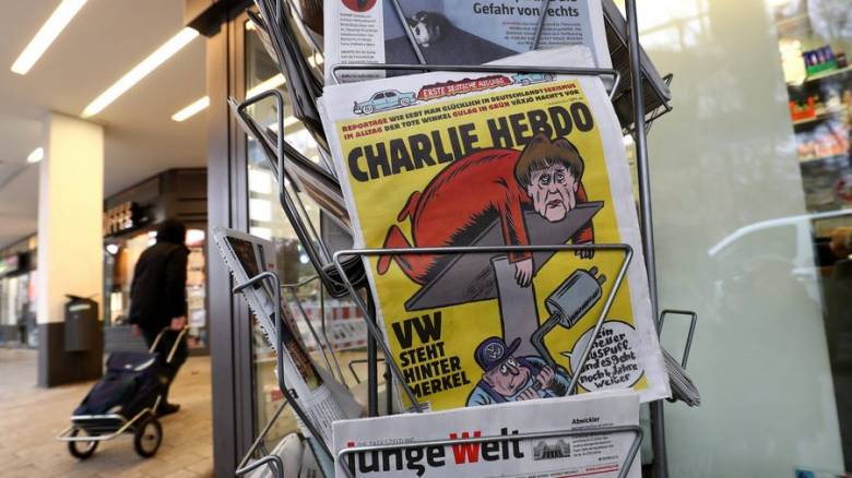 Εισαγγελική έρευνα για τις απειλές στο Charlie Hebdo