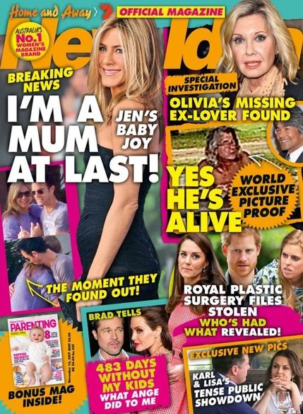 Jennifer Aniston Mum Pregnant 600x818