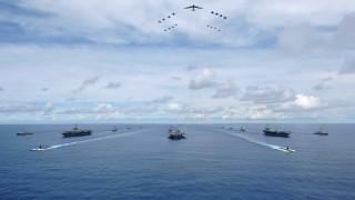 ΗΠΑ: Το Πεντάγωνο επιβεβαιώνει την άσκηση των τριών αεροπλανοφόρων στον Ειρηνικό