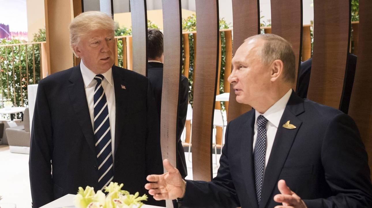 Συνάντηση Τραμπ - Πούτιν στις 10 Νοεμβρίου