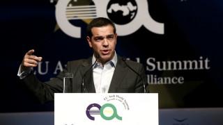 Τσίπρας: Η συνεργασία με τον αραβικό κόσμο θα αναβαθμίσει τον διεθνή ρόλο της ΕΕ (pics&vid)
