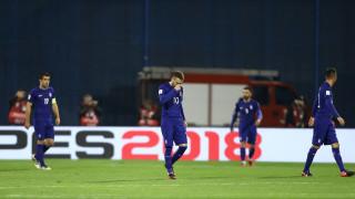 ΠΚ 2018: Κατώτερη των απαιτήσεων η εθνική στο πρώτο μπαράζ και ήττα 4-1 από την Κροατία