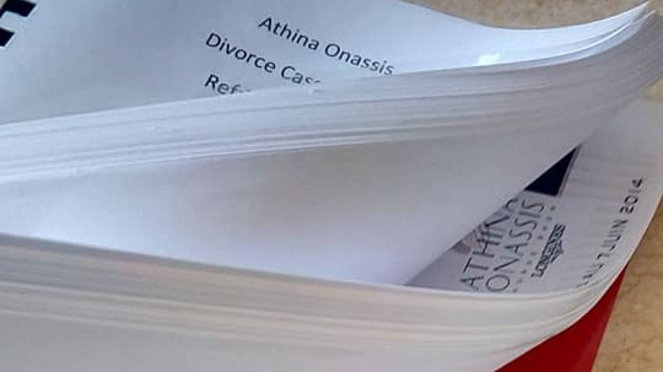 Αθηνά Ωνάση: τίτλοι τέλους με νικήτρια την κληρονόμο στο διαζύγιο από τον Αλβάρο