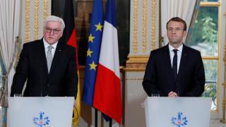 Μακρόν - Σταϊνμάιερ: Να επανιδρυθεί επειγόντως η Ευρώπη