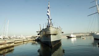 Παρατείνεται η παραμονή του «Γ. Αβέρωφ» στο λιμάνι της Θεσσαλονίκης