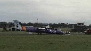 Αναγκαστική προσγείωση αεροσκάφους στο Μπέλφαστ (pics)
