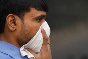 Τοξικό νέφος έχει σκεπάσει το Νέο Δελχί