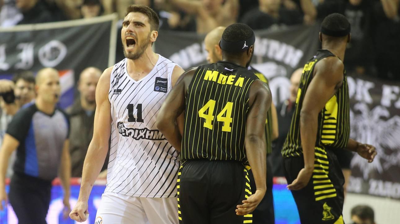Α1 μπάσκετ: Στον ΠΑΟΚ το ντέρμπυ της Θεσσαλονίκης με τον Άρη