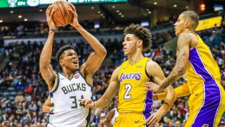 NBA: Οι Λέικερς υποκλίθηκαν στο Γιάννη Αντετοκούνμπο, ρεκόρ έκανε ο Μπολ (vids)