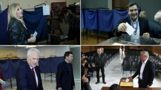 Εκλογές Κεντροαριστέρα: Στις κάλπες οι υποψήφιοι για την ηγεσία (pics)