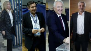 Εκλογές Κεντροαριστερά: Τα μηνύματα των υποψηφίων από τις κάλπες