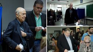 Εκλογές Κεντροαριστερά: Ψήφισαν Παπανδρέου-Βενιζέλος-Σημίτης (pics)
