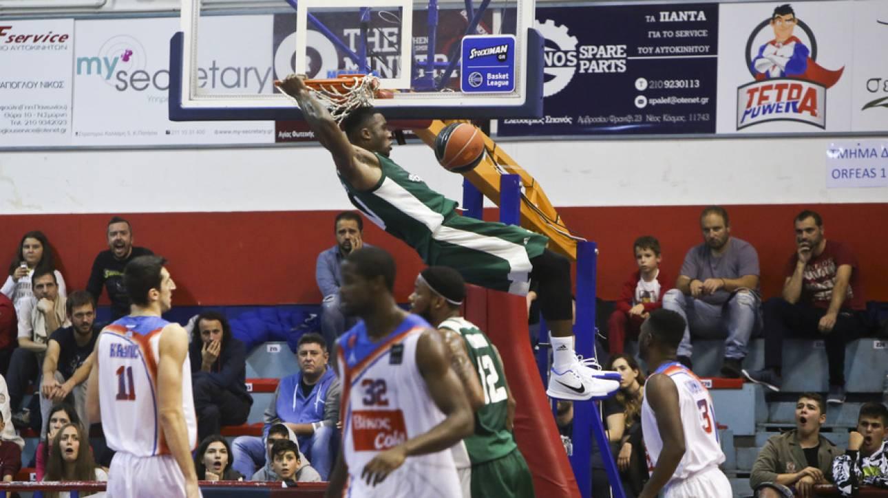 Α1 μπάσκετ: Πρώτος και αήττητος ο Παναθηναϊκός Superfoods και στη Νέα Σμύρνη