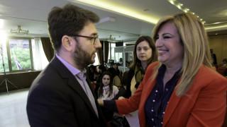 Εκλογές Κεντροαριστεράς: Γεννηματά και Ανδρουλάκης στον δεύτερο γύρο