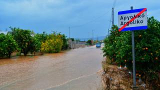 Κακοκαιρία: Προβλήματα στην Πελοπόννησο από την επέλαση της «Ευρυδίκης»