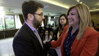 Εκλογές Κεντροαριστερά: Στις 17 μονάδες η διαφορά Γεννηματά – Ανδρουλάκη