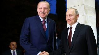 Συνάντηση Ερντογάν - Πούτιν: Στην κορυφή της ατζέντας η σύρραξη στη Συρία