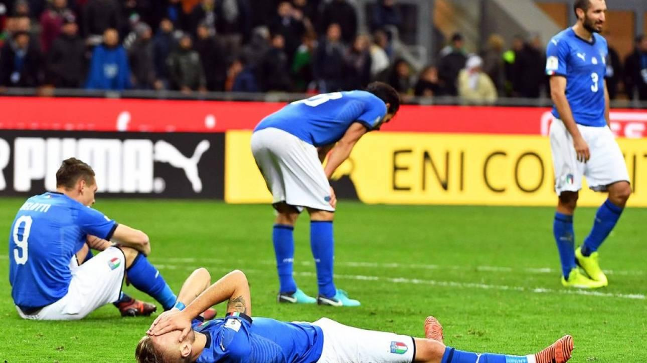 Μπαράζ ΠΚ 2018: Μουντιάλ χωρίς Ιταλία, πρόκριση για τη Σουηδία - σοκ με Γιόχανσον