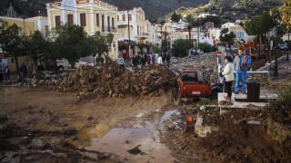 Η Σύμη σε κατάσταση έκτακτης ανάγκης - Προσπάθεια για αποκατάσταση των ζημιών