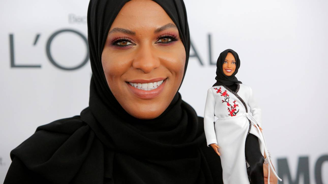 Barbie με χιτζάμπ: η νέα μουσουλμάνα κούκλα τιμάει την ολυμπιονίκη Ibtihaj Muhammad