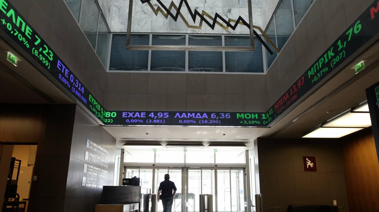 Μικρή άνοδος στη σημερινή συνεδρίαση του Χρηματιστηρίου Αθηνών