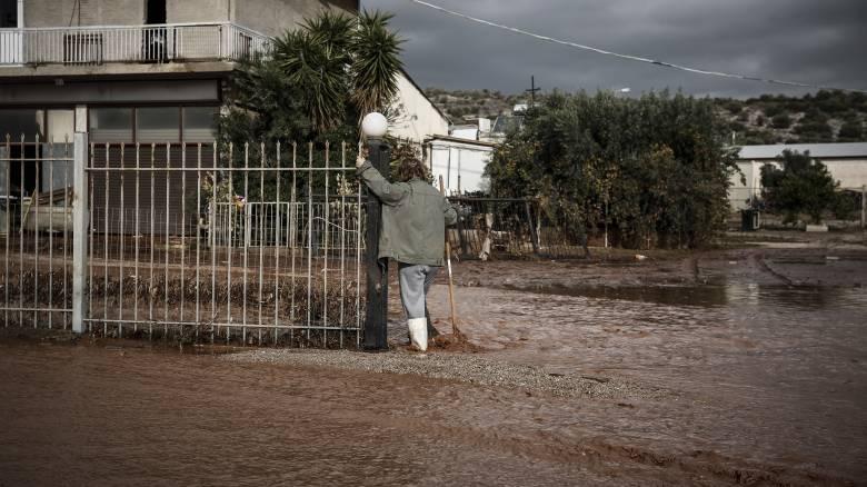 Κακοκαιρία: Δεύτερος νεκρός στη Μάνδρα Αττικής