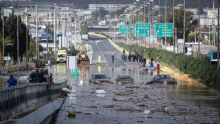 Κακοκαιρία: Ποιοι δρόμοι είναι κλειστοί στην Αττική (pics)