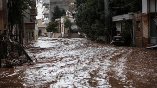 Κακοκαιρία: Σε απόγνωση οι κάτοικοι της Νέας Περάμου μετά τις καταστροφικές πλημμύρες