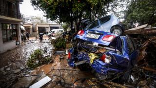 Έκτακτη σύσκεψη για την τραγωδία στη Μάνδρα: Δέσμευση της κυβέρνησης η αποκατάσταση των ζημιών