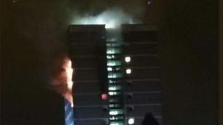 Μεγάλη πυρκαγιά σε συγκρότημα κτιρίων στο Μπέλφαστ