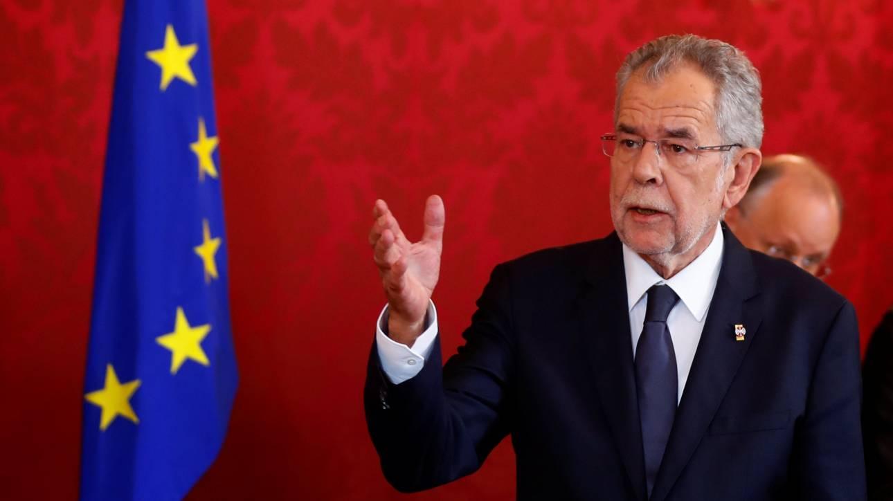 Αυστρία: Προεδρικό «βέτο» στην υπουργοποίηση στελεχών του ακροδεξιού κόμματος