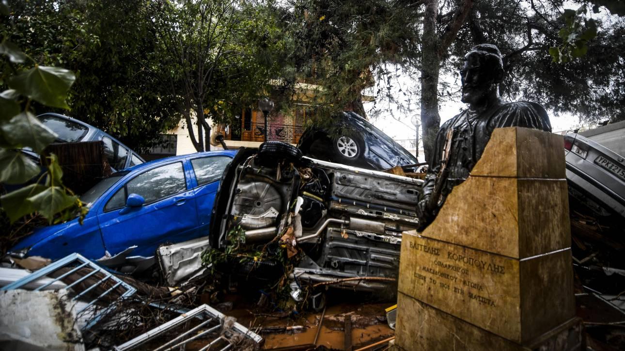 Εικόνες Αποκάλυψης στη Δυτική Αττική, 16 νεκροί από την κακοκαιρία