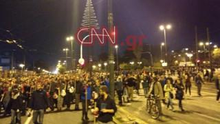 44η Επέτειος Πολυτεχνείου: Ολοκληρώθηκε η μεγάλη πορεία - Ένταση στην Αλεξάνδρας (pics&vids)