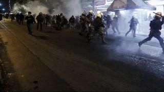 Πολυτεχνείο 2017: Επεισόδια σημάδεψαν την πορεία στην Πάτρα (pics&vid)