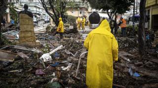 Δυτική Αττική: Έρευνες για τους αγνοούμενους και καταγραφή των ζημιών από τη θεομηνία