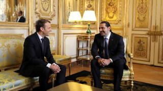 Επιστρέφει στον Λίβανο ο Χαρίρι-Τι συζήτησε με τον Μακρόν στο Παρίσι