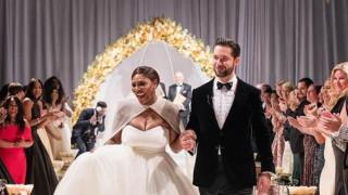 Ο υπέρλαμπρος γάμος της Σερένα Γούλιαμς σε 7+1 καρέ!