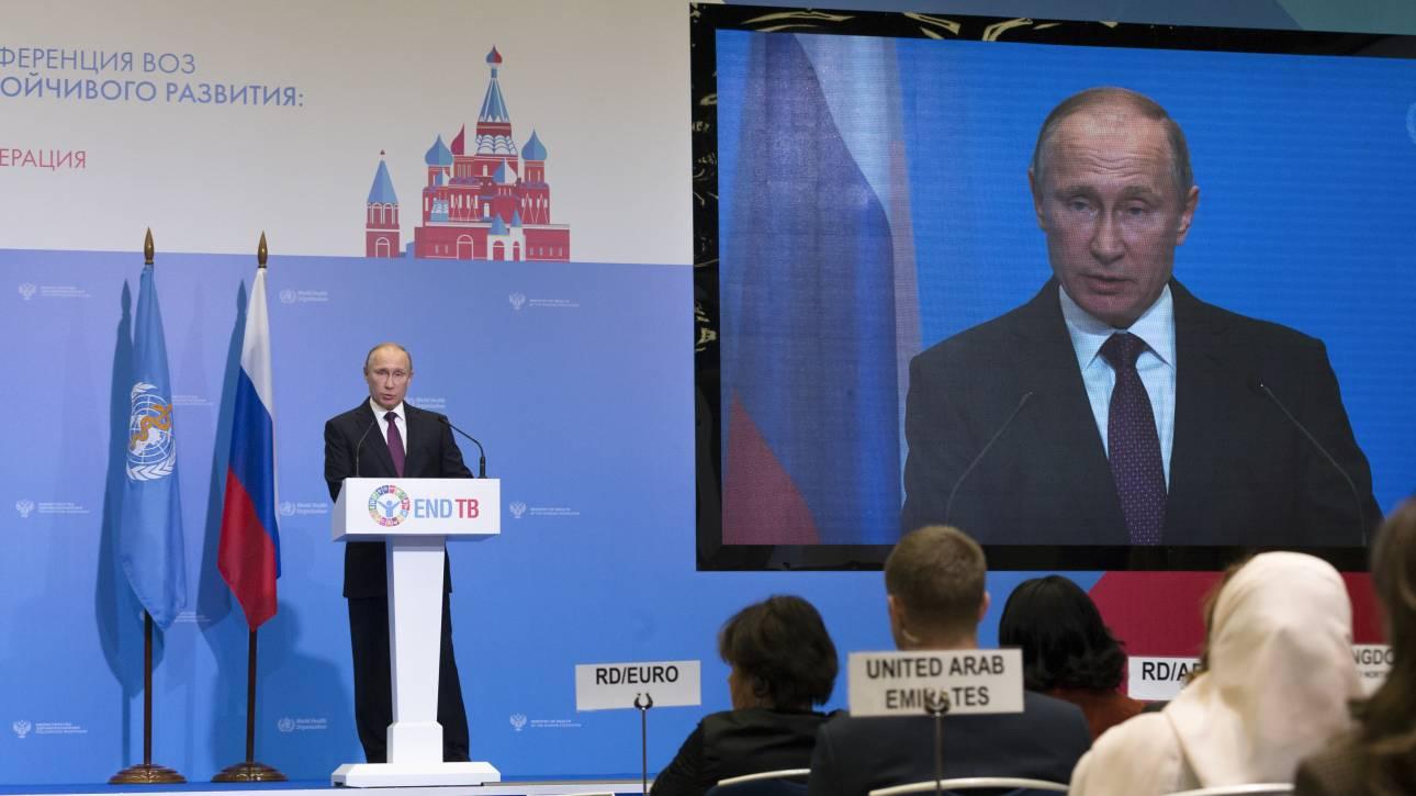 Δεν γλίτωσε ούτε ο Πούτιν από τους φαρσέρ που απειλούν για βομβιστικές επιθέσεις